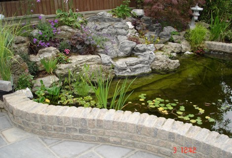 Monsoon Black Paving & Pond