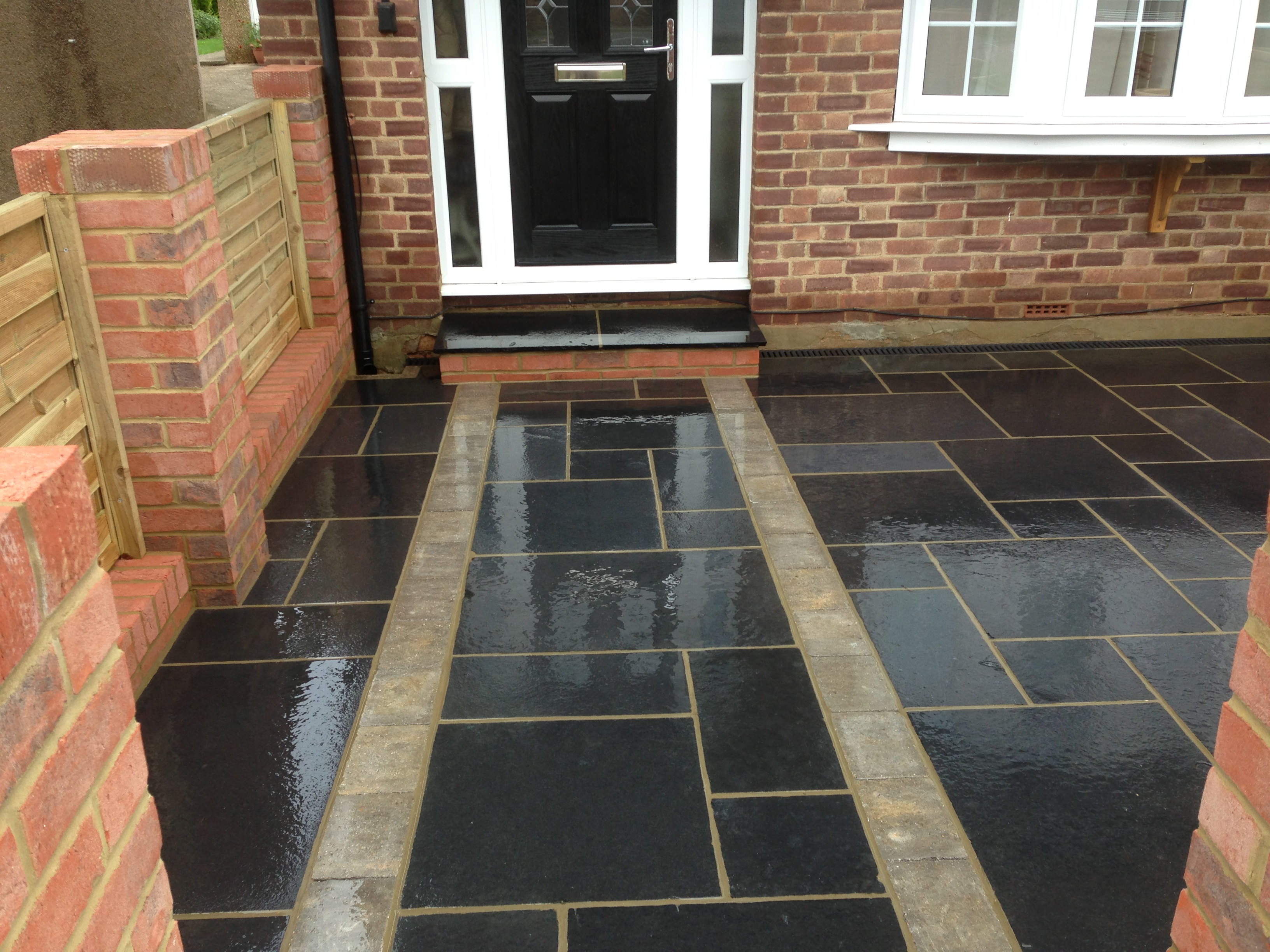 Perfect How To Clean Black Limestone Patio Ideas