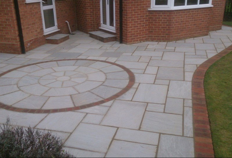 Castle Grey Paving